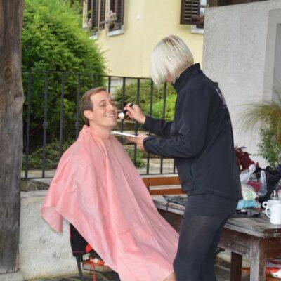 Video shoot with Folx TV, Krain, Slovenia